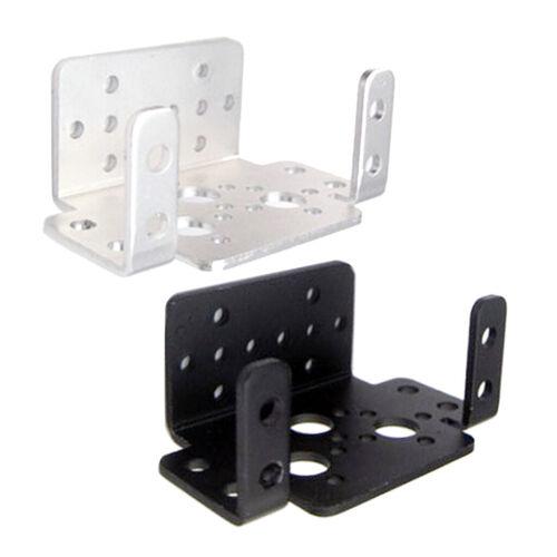 Robot Servo Spare Parts 2PCS Black U-Shape Servo Mounting Bracket