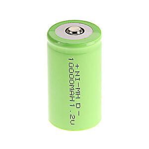1-X-D-Groesse-1-2-V-10000mAh-NiMH-Akkus-Wiederaufladbare-Batterie