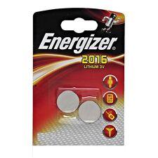 2 Batterien Energizer Lithium CR2016 3 V