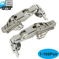 165° Soft Close Kitchen Cabinet Hinges Full Overlay Face Frame Cupbaord Hinges