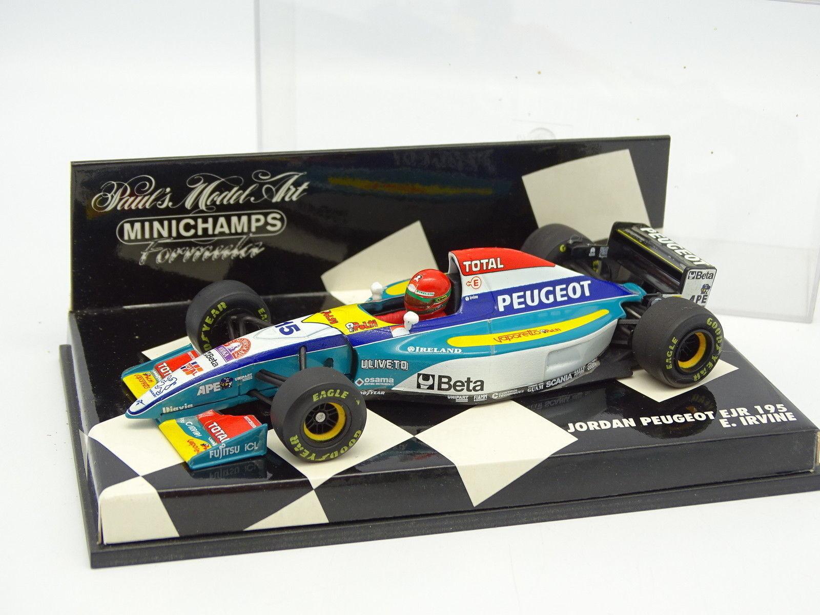 Minichamps 1 43 - F1 Jordan Peugeot EJR 195 Irvine