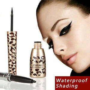 Neu-Mode-2in1-Fluessig-Eyeliner-Stift-Liquid-Eyeliner-Wasserdicht-Dual-Makeup