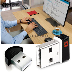 d2088def8d7 Wireless Keyboard Mouse Unifying Receiver 1 to 6 Devices USB Dongle ...