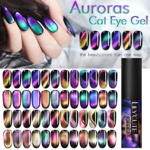 LILYCUTE-5ml-Auroras-9D-UV-LED-Gel-Nagellack-Traenken-Sie-Nail-Art-Dekore-Tipps