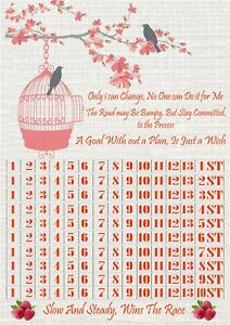 10 stone weight loss chart with 2 sheets of stickers slimming weight