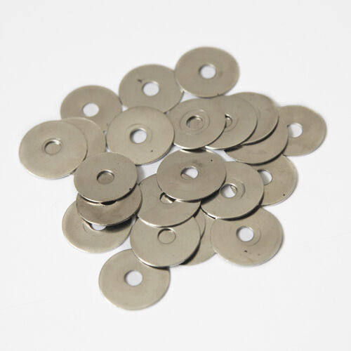 ZINC PLATED WASHERS M6 REPAIR MUDGUARD PENNY WASHER