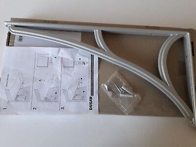 Edelstahl-optik Up-To-Date-Styling Winkel Für Abdach/vordach Zierwinkel Von Dusar Fassade Baustoffe & Holz