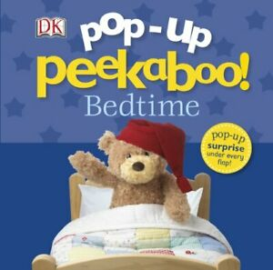 Pop-up-Peekaboo-Bedtime-by-Dk-NEW-Book-FREE-amp-Fast-Delivery-Board-book