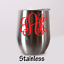 Stemless-Wine-Cup-Stainless-Tumbler-Monogram-Personalized-Powder-Coated-9-Colors