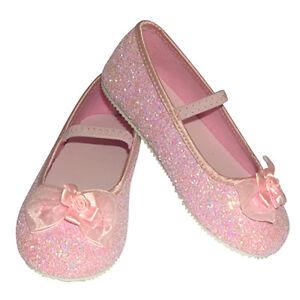 Sparkly Pink Glitter Flower Girl