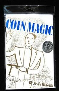 COIN MAGIC KIT book by Hugard and Houdini Palming COIN tricks sleight of hand