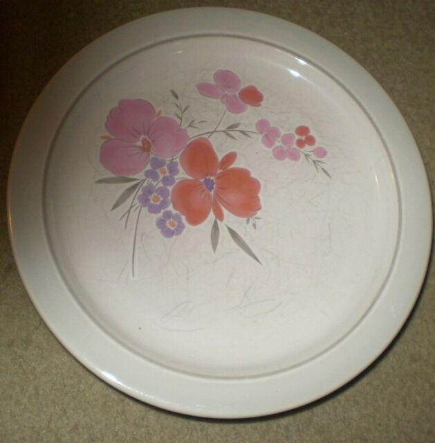 5 Floral Dinner Plates