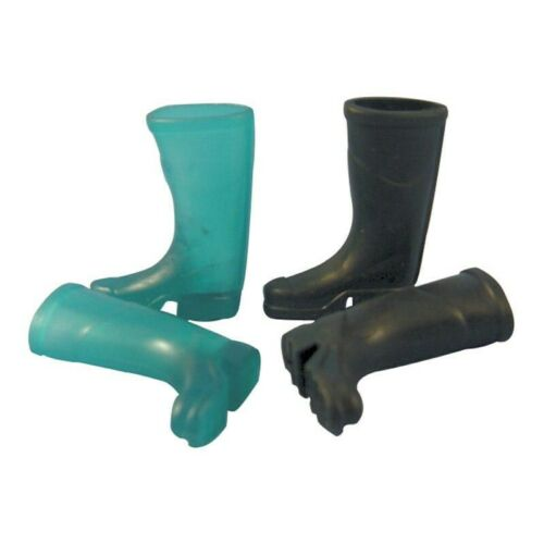 CHOICE OF 2 COLOURS NEW MINIATURE WELLINGTON BOOTS FOR FAIRY GARDENS