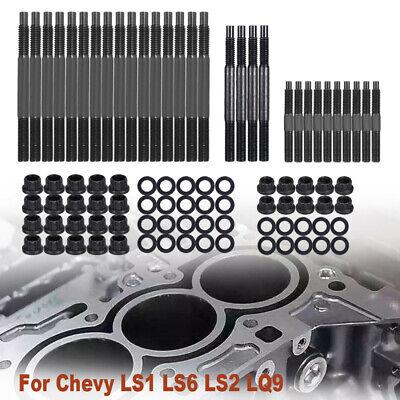 Fits Chevy LS1 LS2 LS6 4.8L 5.7L 6.0L 1997-2003 12-Point Head Stud Kit US SHIP