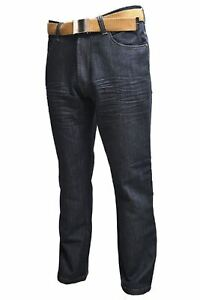 Mens-Classic-Fit-Black-Indigo-Jeans-Kori-By-Creon-Previs