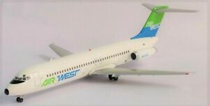 Inflight-IF932021-Air-West-Douglas-DC-9-31-N9338-Diecast-1-200-Model-Airplane