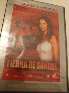 Dvd-TIERRA-DE-SANGRE-CON-HILARY-SWANK-precintado-nuevo