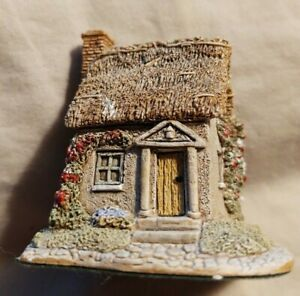 Vintage-1993-Lilliput-Lane-la-broza-ingles-Cottage-73662-Buen-Estado