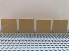 LEGO 4 x tan 1 x 6 x 5 panel wall Parts 1 x 6 x 5 59349 59350 35286