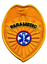 thumbnail 4 - Paramedic- Emergency Medical Service Badge Patch in Gold or Silver Color