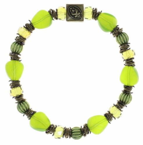 Konplott Armband Tropical Candy brass /'seaweed greens