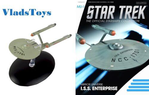 Eaglemoss Star Trek ISS Enterprise NCC-1701 Mirror Universe #M1 with magazine