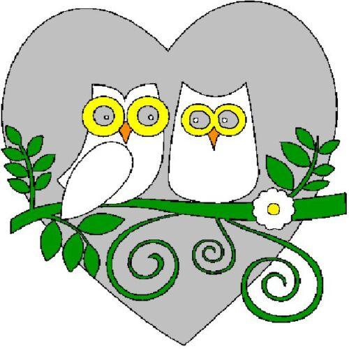 30 Custom White Owl Art Personalized Address Labels