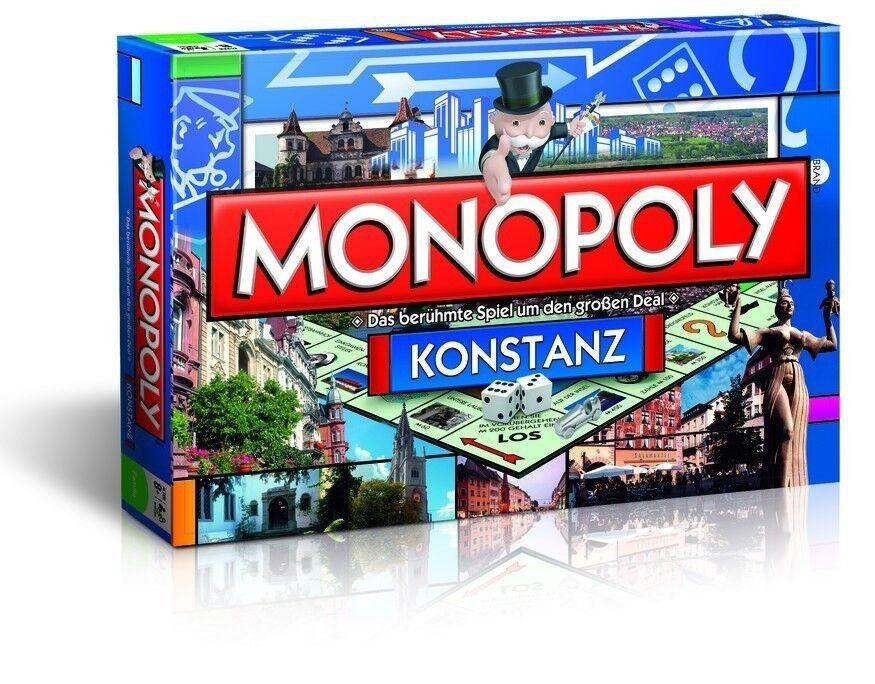 Originale Monopoly Konstanz città Edizione cittàedizione Città Gioco da Tavola   basta comprarlo