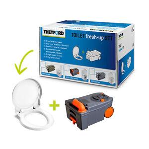 Kit-Renovacion-Thetford-C250-C260-Ruedas-Fresh-Up-Renove-Autocaravana-WC-Quimico