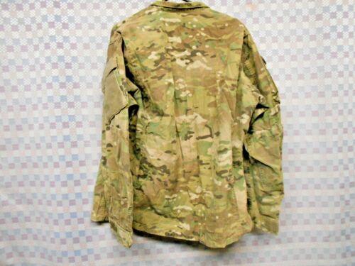 US ARMY COMBAT UNIFORM COAT MULTICAM MEDIUM LONG FIRE RESISTANT PRE-OWNED