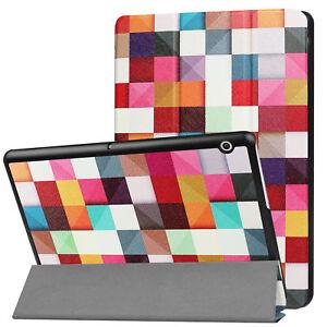 Book-Cover-Per-Huawei-Mediapad-T3-10-Magnetico-Custodia-Supporto-Smart-Case
