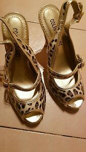 Colin-Stuart-Leopard-Peep-toe-Pumps-Heels-Size-6-1-2-or-37-New