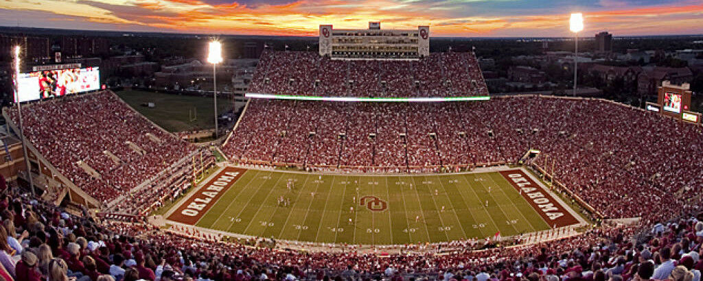 Kansas State Wildcats at Oklahoma Sooners Football