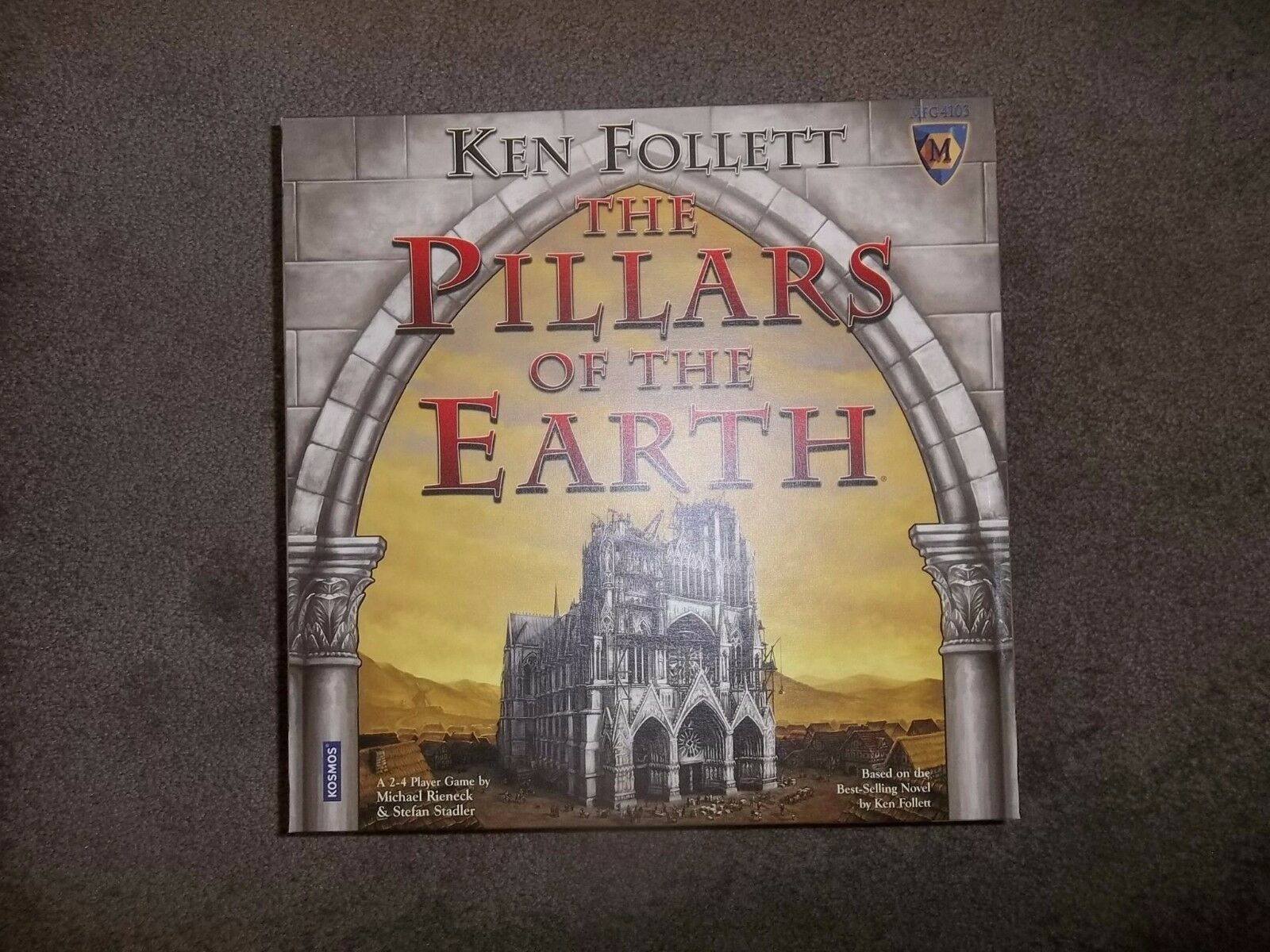 Mayfair Games The Pillars of the Earth