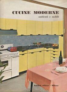 Dettagli su CUCINE MODERNE Ambienti e Mobili GÖRLICH Milano 1963  Arredamento Casa Design