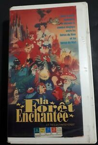 Elm-Chanted-Forest-Foret-Enchantee-1993-VHS-French-Version-Ex-Rental-Animated