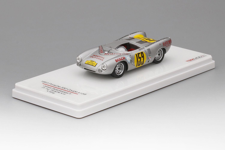Porsche 550 Coupé Carrera Panamericana IV  1953 (TSM 1 43   124357)