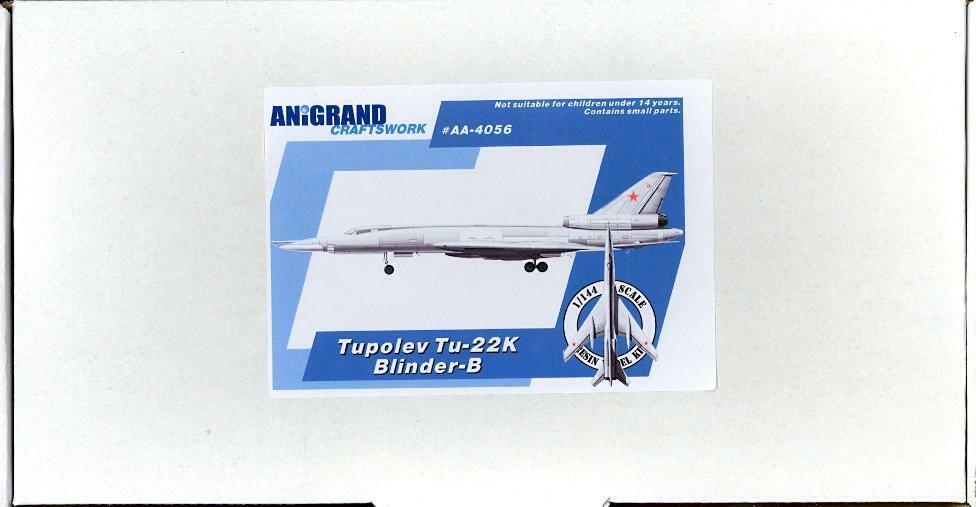 Anigland 1   144 Tupolev Tu - - - 22 ciego - B ruso 542