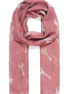 Scarf Shawl Lovely Material beach wrap gift present Paw Print Animal Scarves