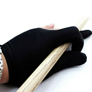Pool-Snooker-Billiard-Glove-Shooter-Spandex-3-Finger-Glove-Left-Handed-2PCS-NE8