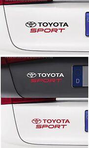 For MAZDA MAZDA SPORT 1 x CAR DECAL STICKER  Fits All Models 195mm x 45mm