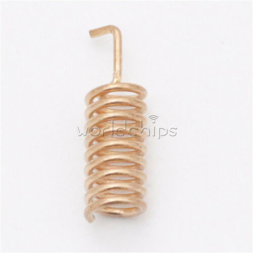 10PCS Helical Antenna 2.15dBi 12.5mm Stable for Remote Contorl HPD215T-B 915MHZ