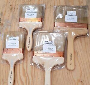 Barnwell 5 Copper Bound Bristle Blend Wall Plasterers Water Splash Paint Brush