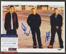 PETER HOOK / BERNARD SUMNER Signed 8x10 Photo PSA/DNA COA Autograph STOCK PHOTO