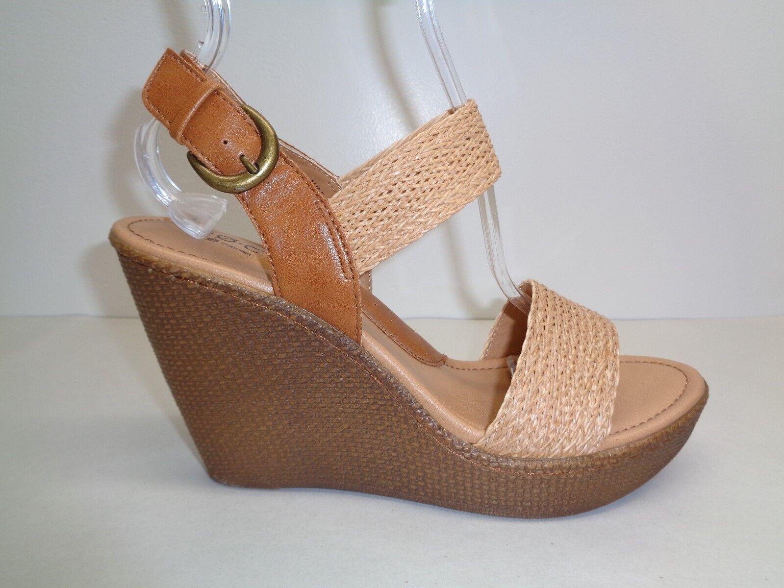 Nacido M Elisabeta tan Cuña Tacón Sandalias De Plataforma Nuevos Zapatos para mujer