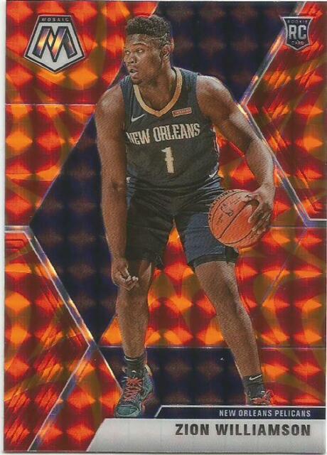 2019-20 Panini Mosaic Zion Williamson Rookie Card RC PELICANS PSA BGS Ready | eBay