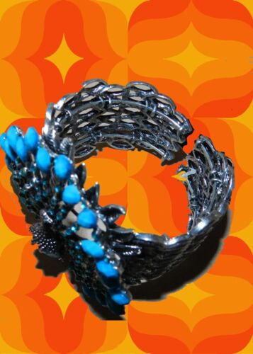 A119 ✪ Boho Hippie Bracelets Armspange Flower-Power Fleurs Enfants Festival Paon