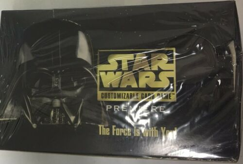 Star Wars Premiere Unlimited Edition CCG Factory Sealed Booster Box Decipher