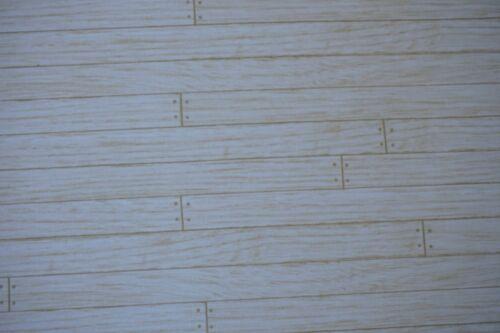 Casa De Muñecas Escala 1//12th plancha de madera Roble papel muy detallada de diseño