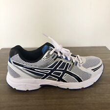 b63432babfa3 item 6 ASICS White Blue Silver Gel-Contend Running Athletic Shoes T348N  MEN S SIZE  10 -ASICS White Blue Silver Gel-Contend Running Athletic Shoes  T348N ...